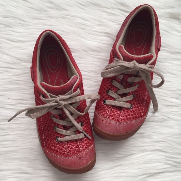 Keen Shoes | Red Mercer Lace Ii Cnx